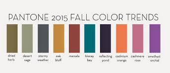 Designs In Paper Pantones Fall 2015 Colors