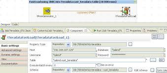 step 5 tteradatafastload configuration teradata etl tools