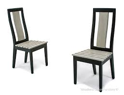 modern rustic wood furniture. Refined Rustic Dining Chairs · Slender Wood Chair Modern Furniture