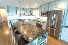 removing granite countertop replacing kitchen with