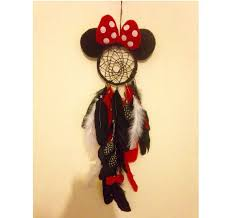 Mickey Mouse Dream Catcher New Disney Inspired Minnie Mouse Dream Catcher Crocheted Mickey