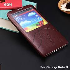 s view flip cover folio case for samsung galaxy note 3 note iii n9000 protector book cases cover with window free shipphing on aliexpress alibaba