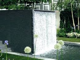 wall water features outdoor water wall fountain outdoor info wall water features
