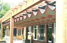retractable pergola cover ideas medium size cloth covers fabric at deck waterproof diy awning reviews rgo