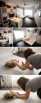 natural light photo studio simple in home idea