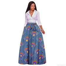 2018 2017 Autumn Winter African Women Boho Dashiki Dresses