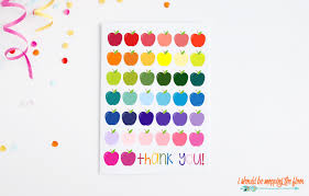 Printable Thank You Cards For Teachers Free Printable Thank You Cards For Teachers I Should Be