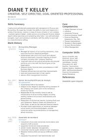 Accounting Officer Sample Resume Amazing Accounting Manager Resume Samples VisualCV Resume Samples Database