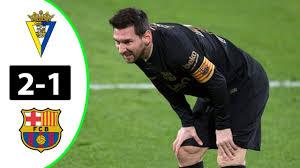 Cadiz 2 – 1 Barcelona (Goal highlights) - Epicnaija