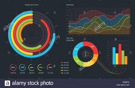 Pie Charts Flat Stock Photos Pie Charts Flat Stock Images