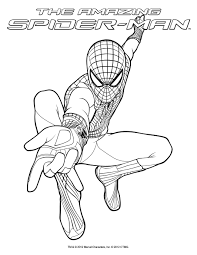 Small Picture Iron Spider Coloring Pages Comic Book Superhero Spider Man