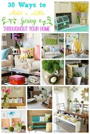house spring decorating ideas