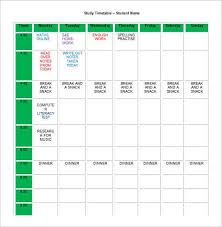 Homework Agenda Printable 22 Homework Planner Templates Schedules Excel Pdf Formats