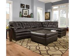 simmons furniture. simmons upholstery 5122 transitional sectional sofa with tufted back furniture -