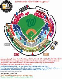 Nats Park Seating Chart 73 Reasonable New Nationals Stadium Seating Chart