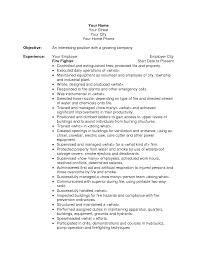 sample fire resume