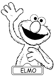 Small Picture Hello Elmo coloring pages Free Printable Coloring Pages For Kids
