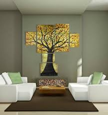 modern extra large wall art of tree of life huge contemporary multiple canvas painting large multi panel acrylic artwork over 5 feet  on extra large multi panel wall art with extra large tree painting of modern tree of life huge contemporary