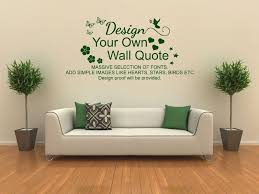 own wall art quote vinyl transfer pvc decal