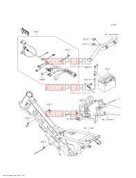 kawasaki klx 110 cff chassis electrical equipment alkatrészek kawasaki klx 110 cff chassis electrical equipment