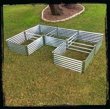 raised metal garden beds u shaped garden beds raised galvanised garden beds corrugated raised garden beds