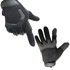 motorcycle gloves tactical gloves with touchscreen finger leather and hard rubber knuckle guard military airsoft paintball bike cycling climbing hiking