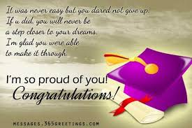 Graduation Wishes Quotes Mesmerizing Graduation Wishes For Daughter Inspirational Quotes About Your