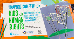 Kids4HumanRights International Drawing Competition, from United ...