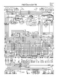 auto wiring diagram  1960 chevrolet v8 biscayne belair or impala wiring diagram