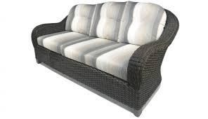 jordan cast wicker belmont sofa