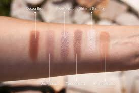 makeup geek eyeshadow review and swatches by minimal gray minimalgray