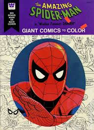 Select from 35450 printable coloring pages of cartoons, animals, nature, bible and many more. Amazing Spider Man Giant Comics To Color 1976 Whitman Comic Books