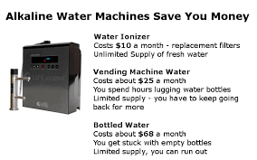 How To Get The Money Out Of A Vending Machine Extraordinary How An Alkaline Water Machine Saves You Money