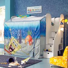 Spongebob Bedroom Furniture Nick Sponge Bob Adventure Stairway Tent Loft Bed At Hayneedle