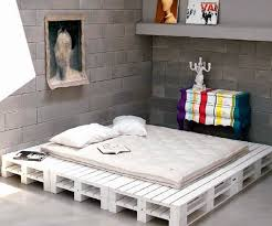 A STACK OF PALLETS AND A SIMPLE MATTRESS IS ALL THAT IS REQUESTED