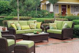 patio garden natural wicker furniture for outdoor like set sets wicker patio replacement cushions furniture