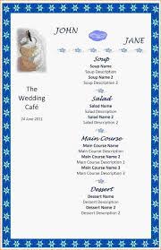 ms word menu template menu templates word jwpt uploaded by nasha razita