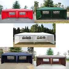 10 x 20 pop up tent canopy w 4