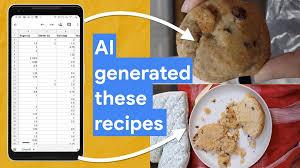 Baking recipes <b>made by</b> AI | Google Cloud Blog