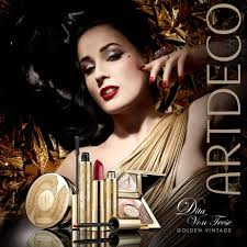 artdeco dita von teese golden vine makeup collection for holiday 2016 makeup4all