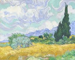 van gogh and nature at the clark huffpost 2015 07 28 1438102939 7969917 awheatfield2c cypresses1 jpg