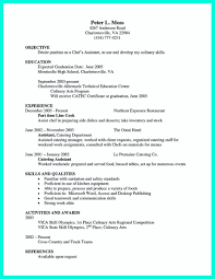 Pastry Chef Resume Template Sample Matthew Harris Banquet Resume ...