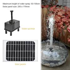 2018 solar power fountain water pump panel kit pool garden fish pond for your business solar