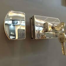 office frameless sliding glass door locks fitting