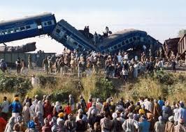 نتيجة بحث الصور عن تصادم قطارين