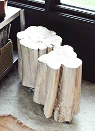 tree trunk coffee table for stump side tables a beautiful canada me
