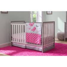 child of mine by carter s little birds and friends 3 piece crib bedding set com
