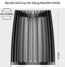 Đèn Bắt Muỗi Sạc Pin Thông Minh BM-MY02 - Công suất tiêu thụ điện thấp tiết  kiệm tuyệt đối - Tặng kèm 1 củ sạc điện