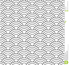 Japanese Wave Pattern Custom Abstract Background Stock Vector Illustration Of Arch 48