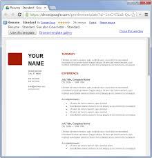 Google Drive Resume Templates Stunning Google Drive Resume Templates Httpwwwjobresumewebsitegoogle